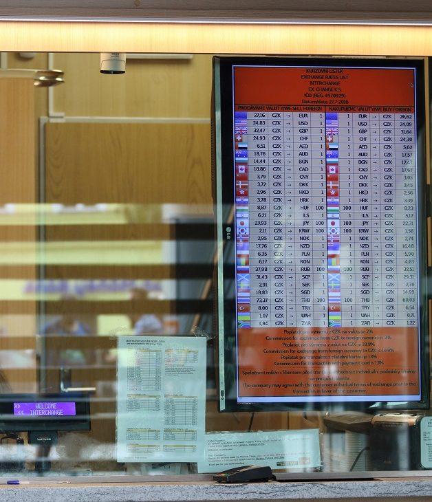 Kurzy ve směnárnách – jak se nastavují a vypočítávají