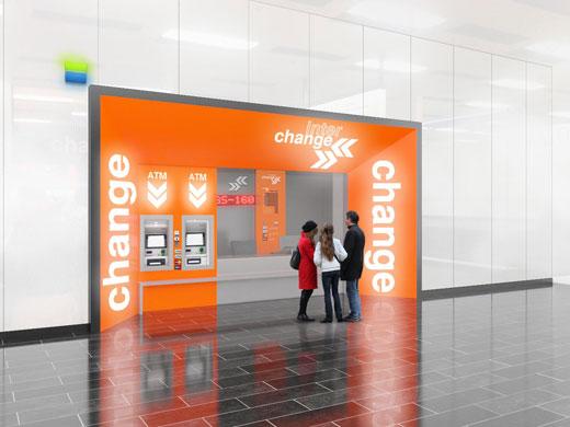 Ristrutturazione delle filiali nell'aeroporto di Vienna