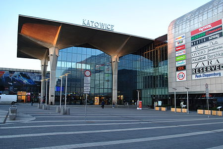 New foreign exchange office at the Katowice train station
