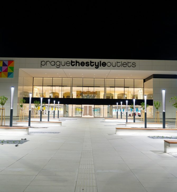 Interchange opens an exchange office in the new Prague shopping mall, 'Prague the Style Outlets'